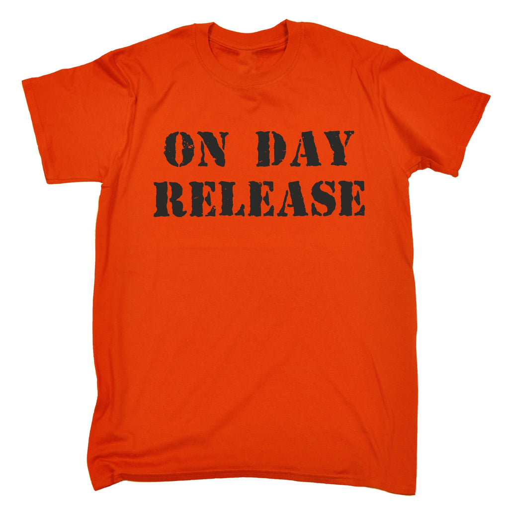 123t Kids On Day Release Funny Kids T-Shirt Ages 3-13