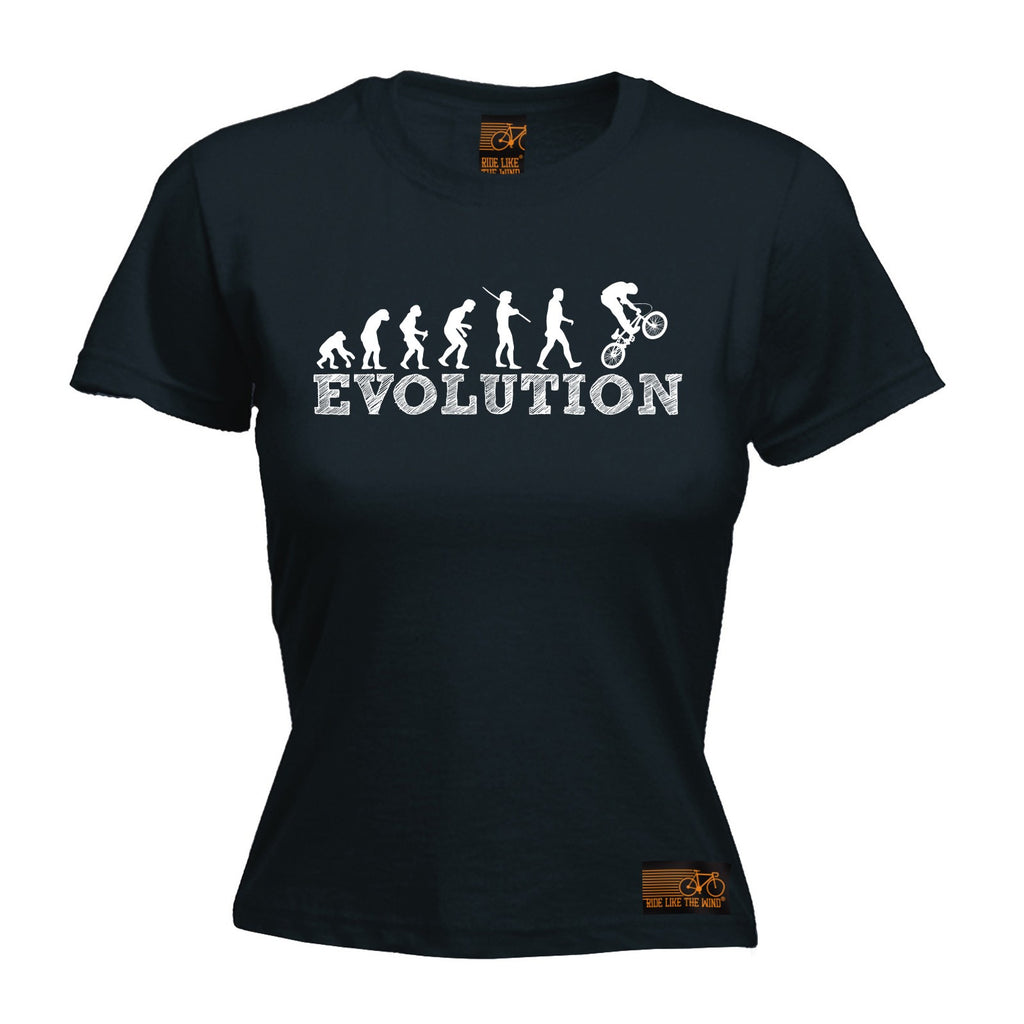 Ride Like The Wind Women's Evolution BMX Cycling T-Shirt