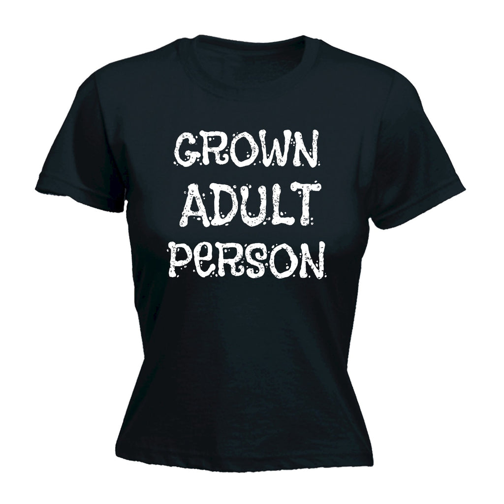 123t Women's Grown Adult Person Funny T-Shirt