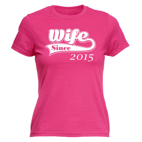123t Women's Wife Since Design Funny T-Shirt