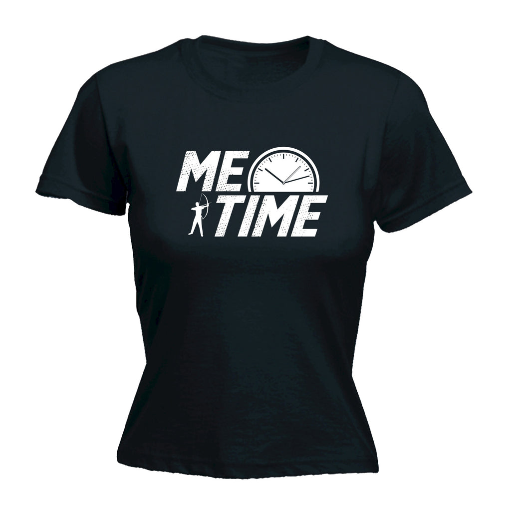 123t Women's Me Time Archery Design Funny T-Shirt