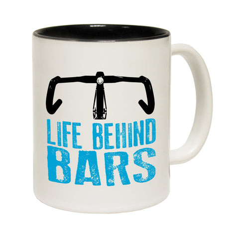 Ride Like The Wind Life Behind Bars ... Funny Cycling Mug