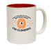 Adrenaline Addict I May Look Like I'm Listening ... Rock Climbing Funny Mug