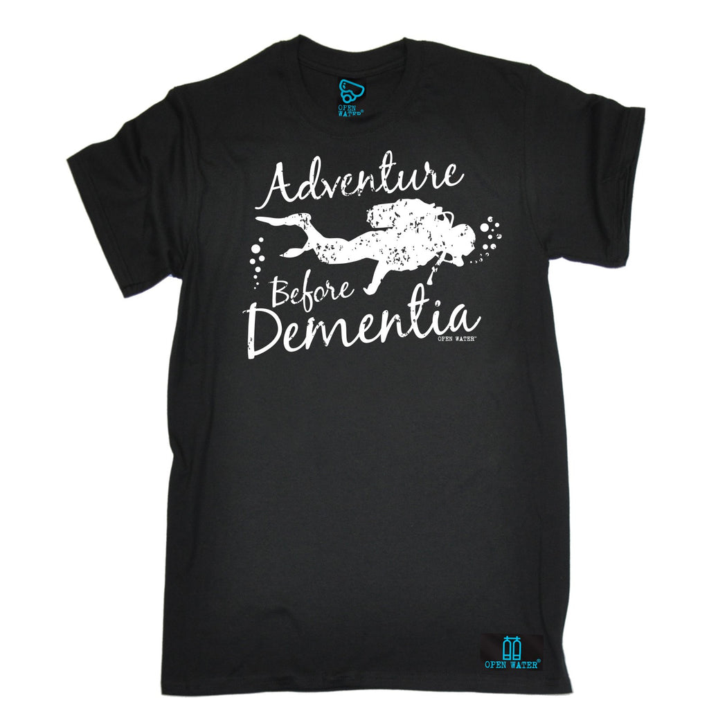Open Water Men's Adventure Before Dementia Scuba Diving T-Shirt