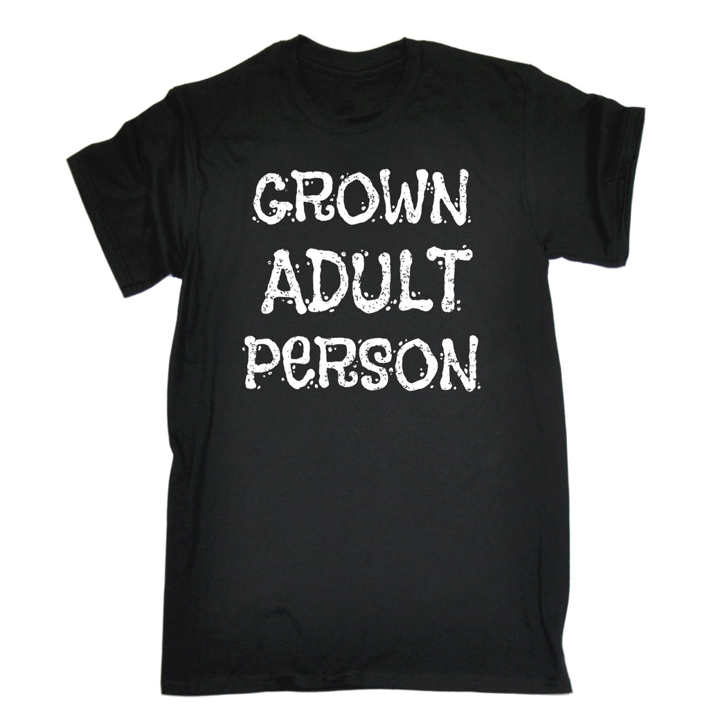 123t Men's Grown Adult Person Funny T-Shirt
