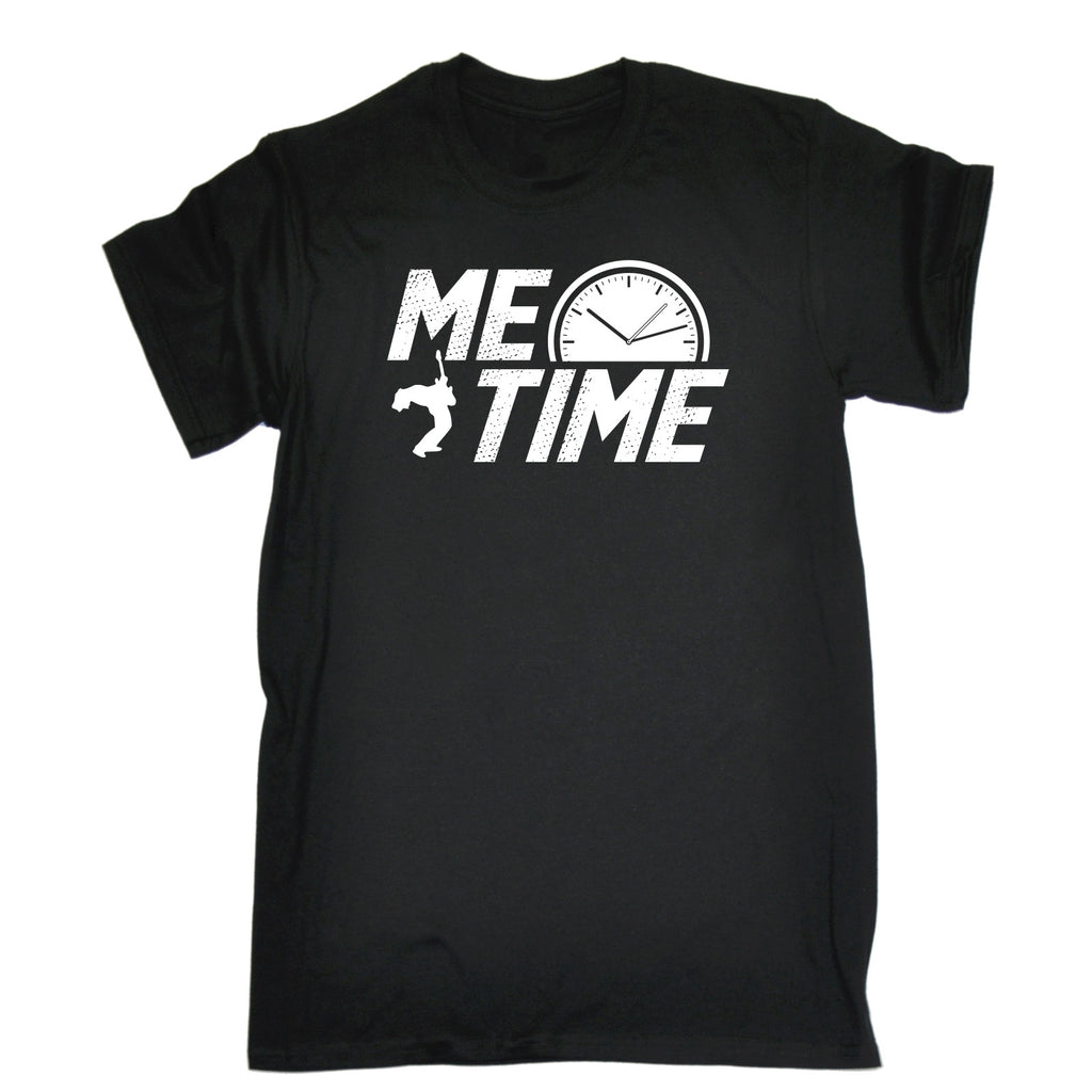 123t Men's Me Time Guitar Design Funny T-Shirt