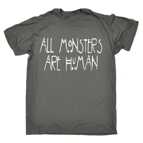 123t Men's All Monsters Are Human T-SHIRT