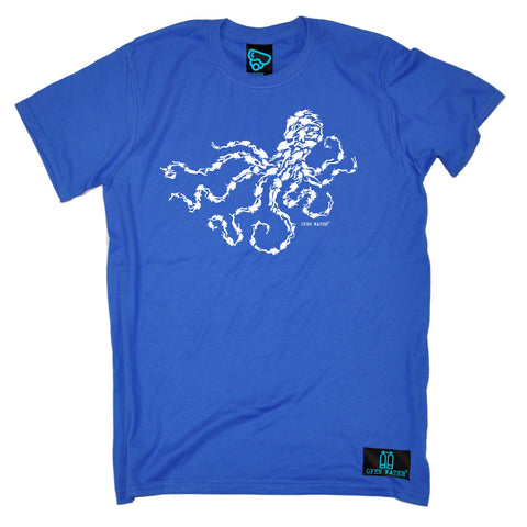 Open Water Men's Octopus Scuba Diver Design Scuba Diving T-Shirt