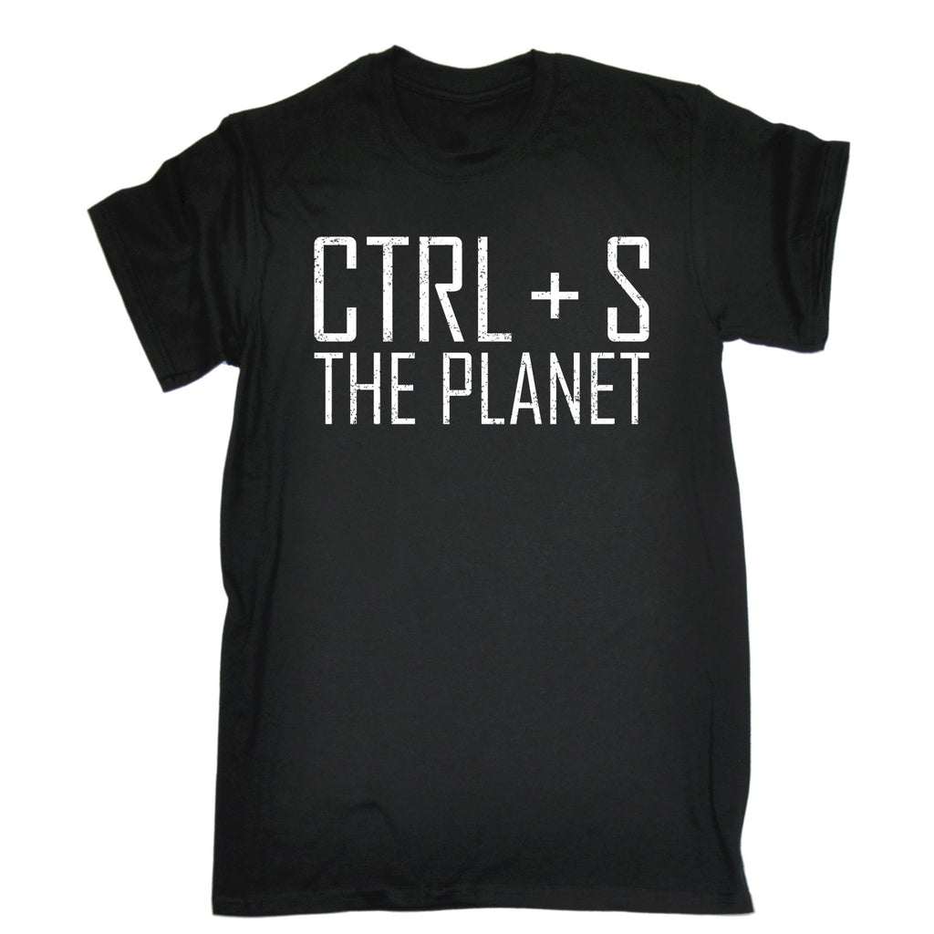 123t Men's CTRL + S The Planet Funny T-Shirt