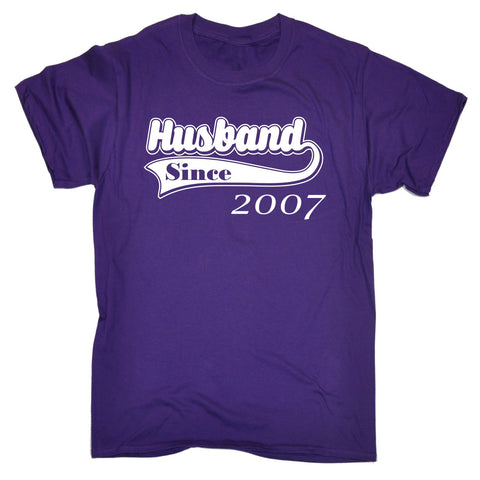 123t Men's Husband Since Design Funny T-Shirt