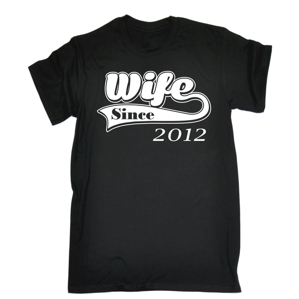 123t Men's Wife Since Design Funny T-Shirt