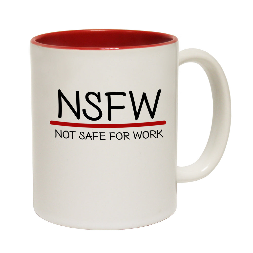 123t NSFW ... Not Safe For Work Funny Mug