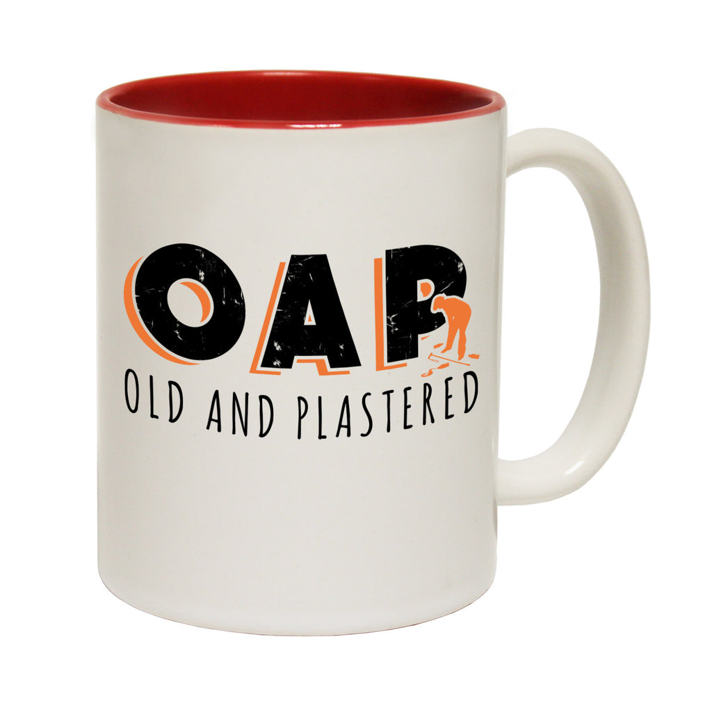123t OAP ... Old And Plastered Funny Mug