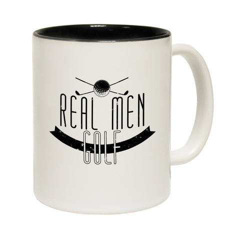 Out Of Bounds Real Men Golf Funny Mug