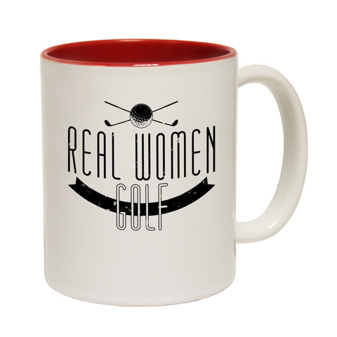 Out Of Bounds Real Women Golf Funny Mug