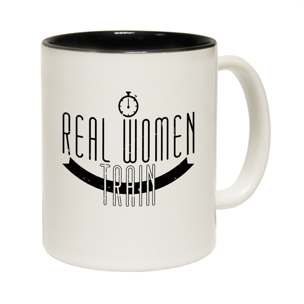 Personal Best Real Women Train Funny Running Mug