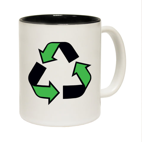 123T Funny Mugs - Recycling - Coffee Cup