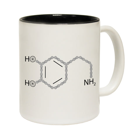 123T Funny Mugs - Rltw Cycling Dopamine Chemical Structure - Coffee Cup