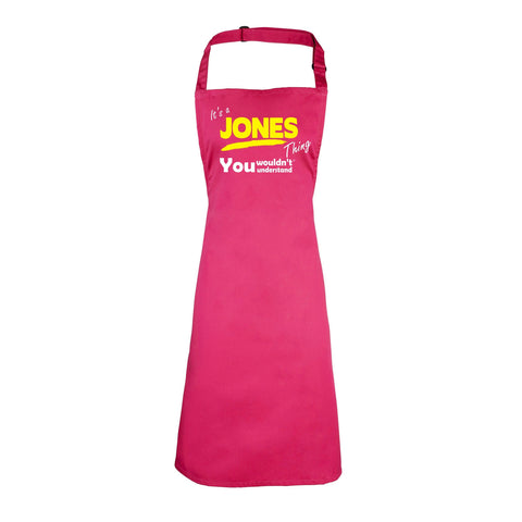 123t It's A Jones Thing You Wouldn't Understand Funny Apron