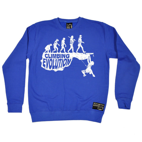 Adrenaline Addict Climbing Evolution Rock Climbing Sweatshirt