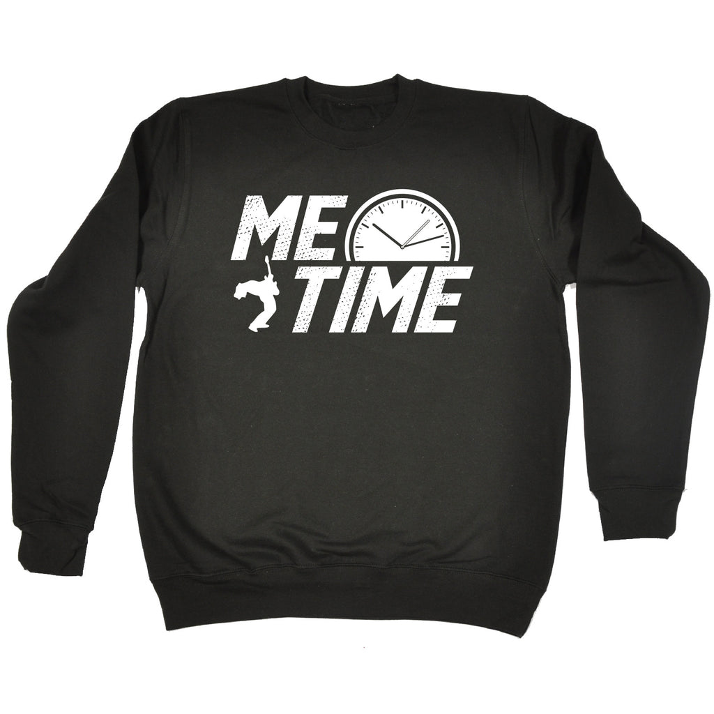 123t Me Time Guitar Design Funny Sweatshirt