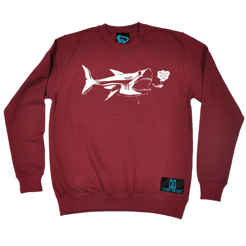 Open Water Where Are The Big Fish Scuba Diving Sweatshirt