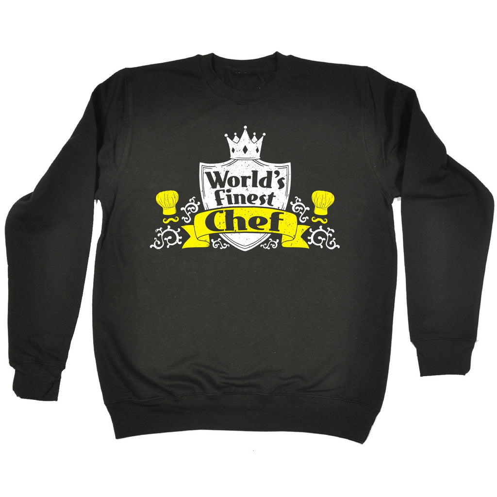 123t World's Finest Chef Funny Sweatshirt