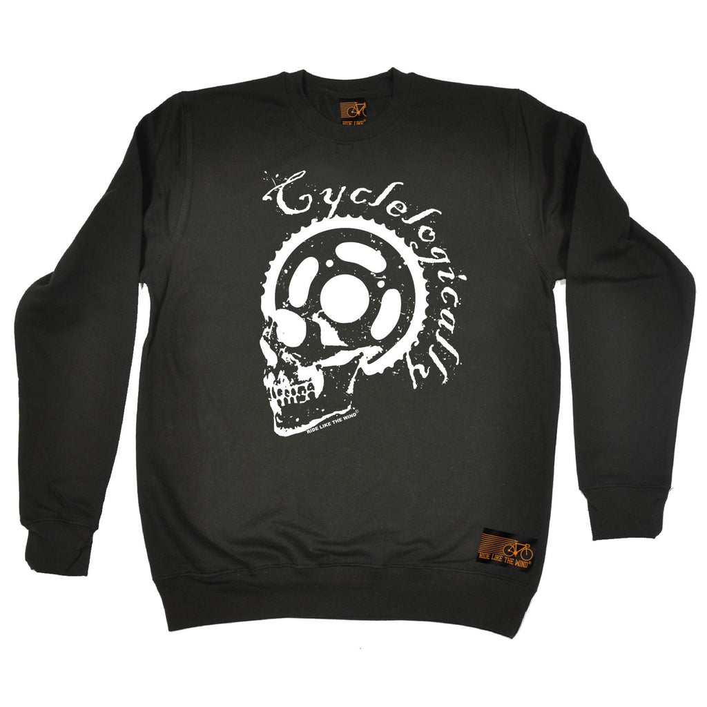 Ride Like The Wind Cyclelogically Cycling Sweatshirt
