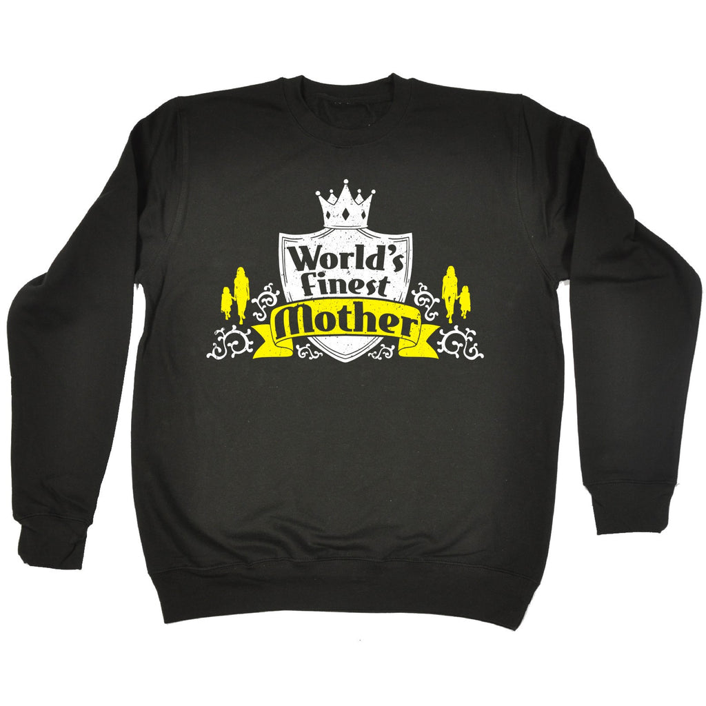 123t World's Finest Mother Funny Sweatshirt