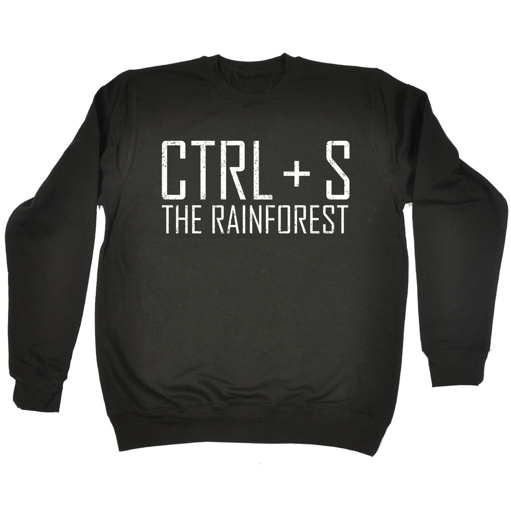 123t CTRL + S The Rainforest Funny Sweatshirt - 123t clothing gifts presents