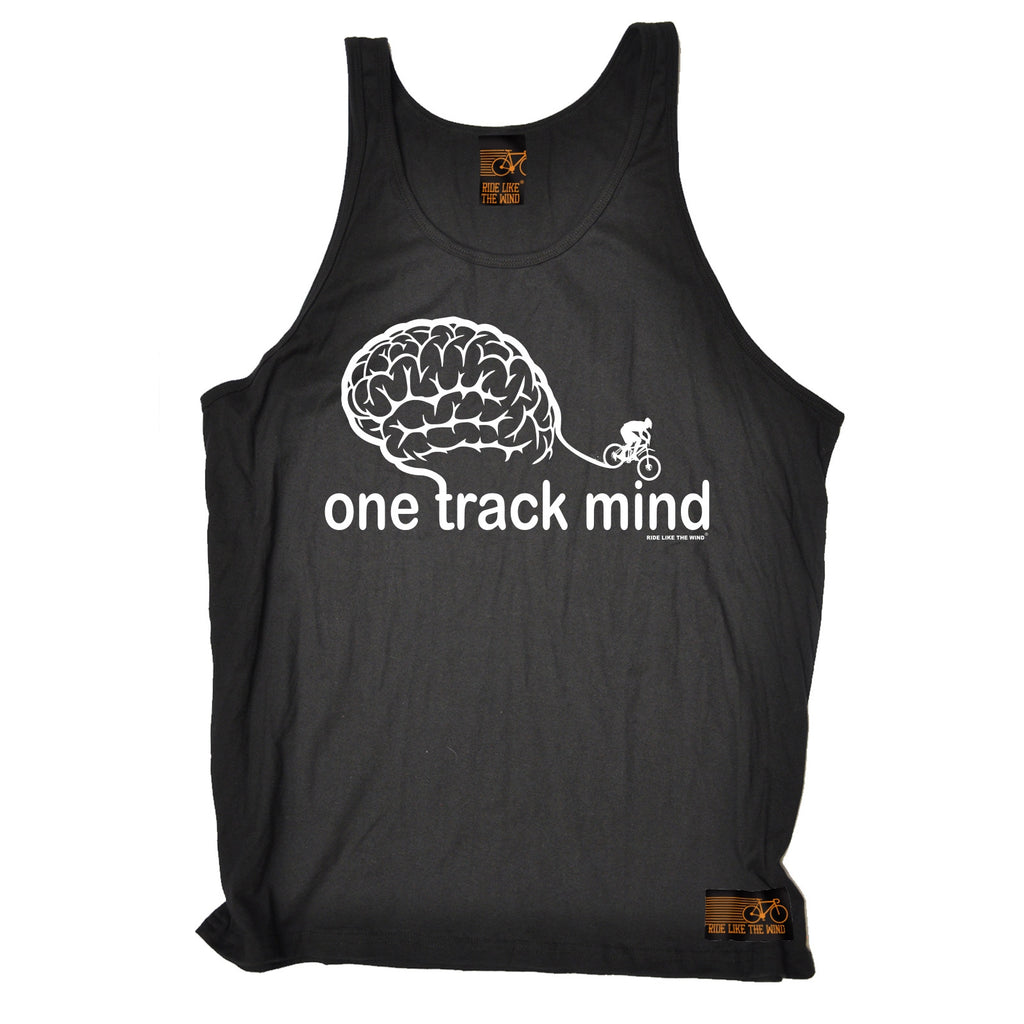 Ride Like The Wind One Track Mind Cycling Vest Top