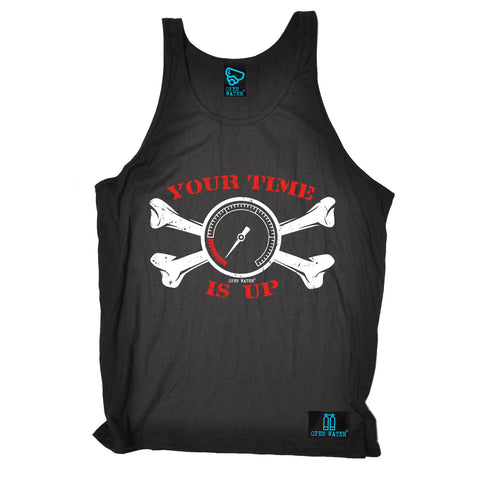 Open Water Your Time Is Up Scuba Diving Vest Top