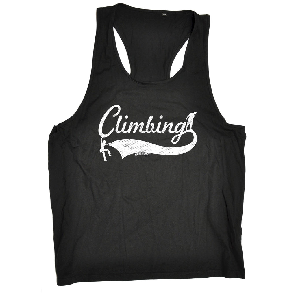 123t Climbing Team Funny Men's Tank Top