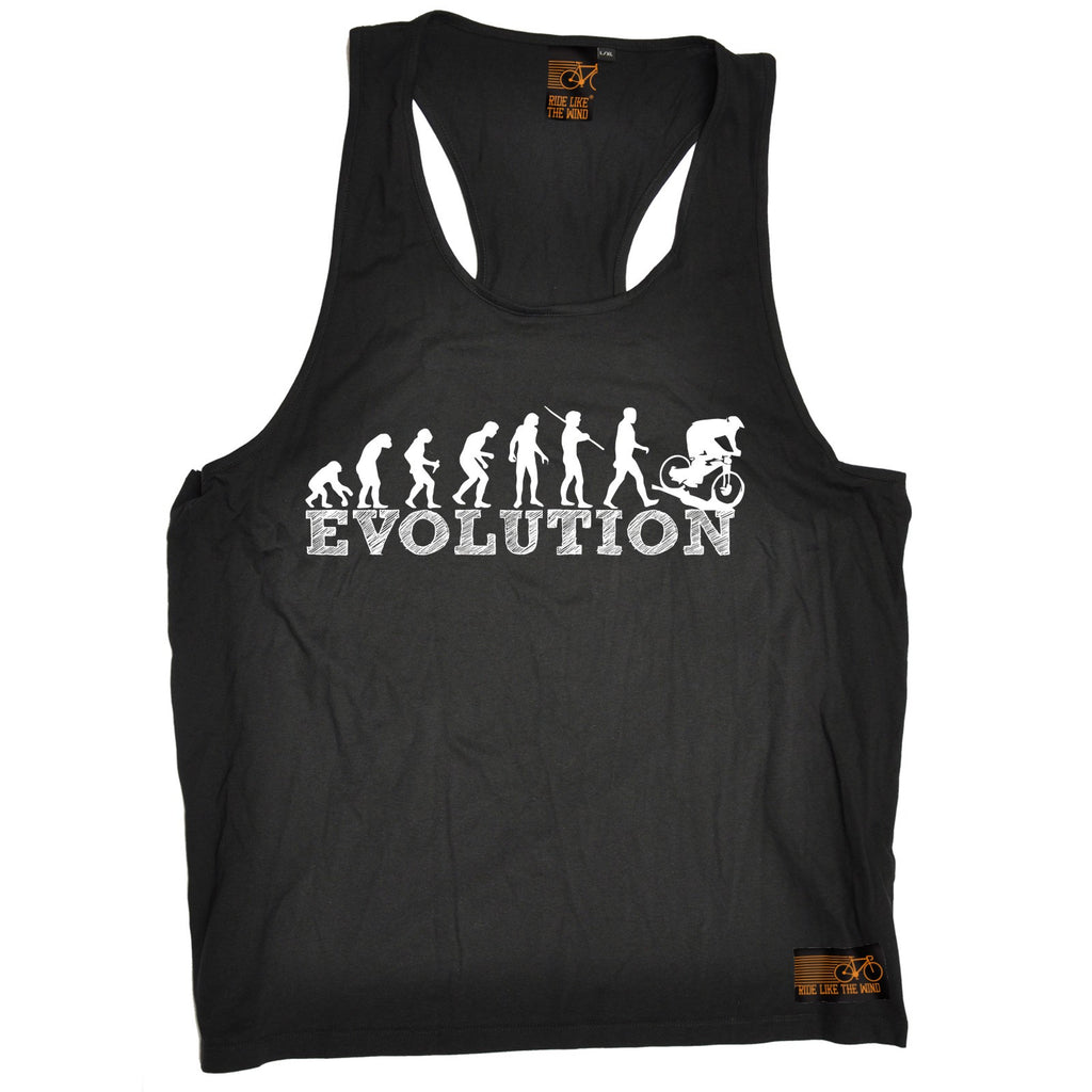 Ride Like The Wind Evolution Downhill Cycling Men's Tank Top