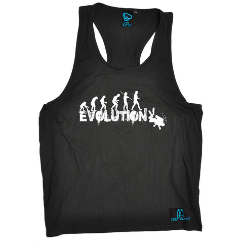Open Water Men's Evolution Scuba Diver Scuba Diving Tank Top