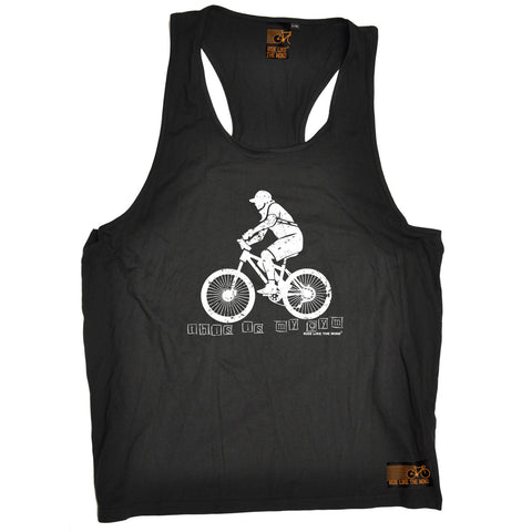 Ride Like The Wind This Is My Gym ... Bike Design Cycling Men's Tank Top
