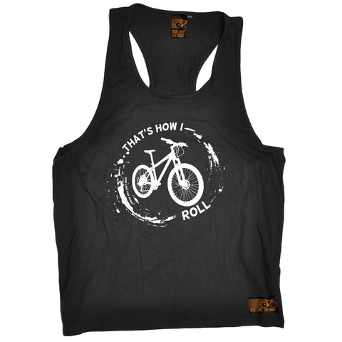 Ride Like The Wind That's How I Roll Mountain Bike Cycling Men's Tank Top