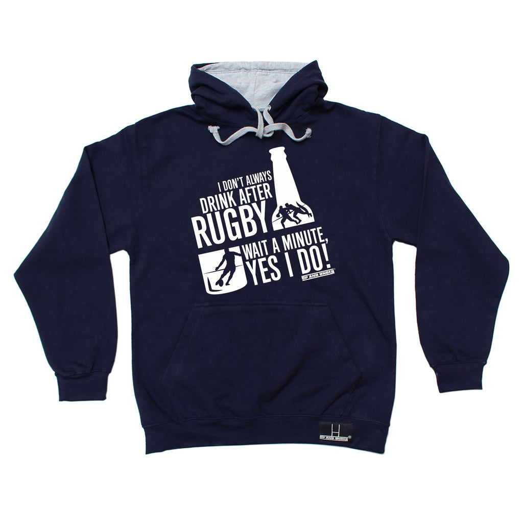 Up and Under - Always Drink Beer After Rugby - Rugby SWEATSHIRT