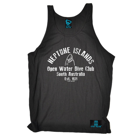 Open Water Neptune Islands Dive Club South Australia Scuba Diving Vest Top
