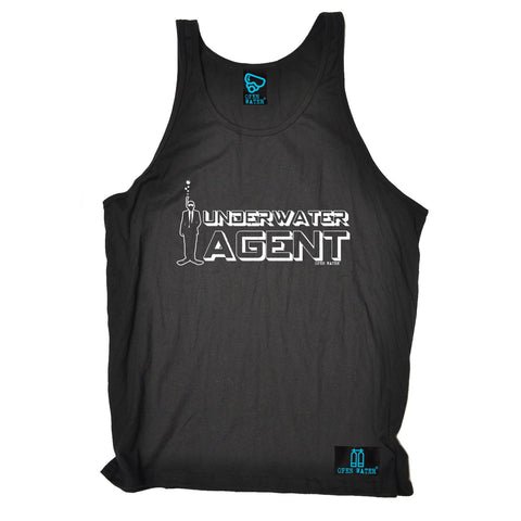 Open Water Underwater Agent Scuba Diving Vest Top