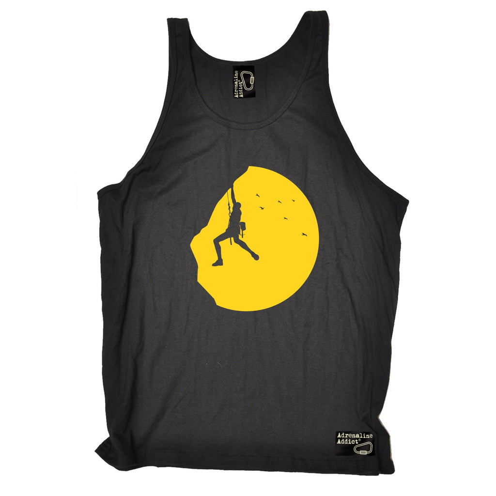 Adrenaline Addict Climbing Sunset Rock Climbing Vest Top