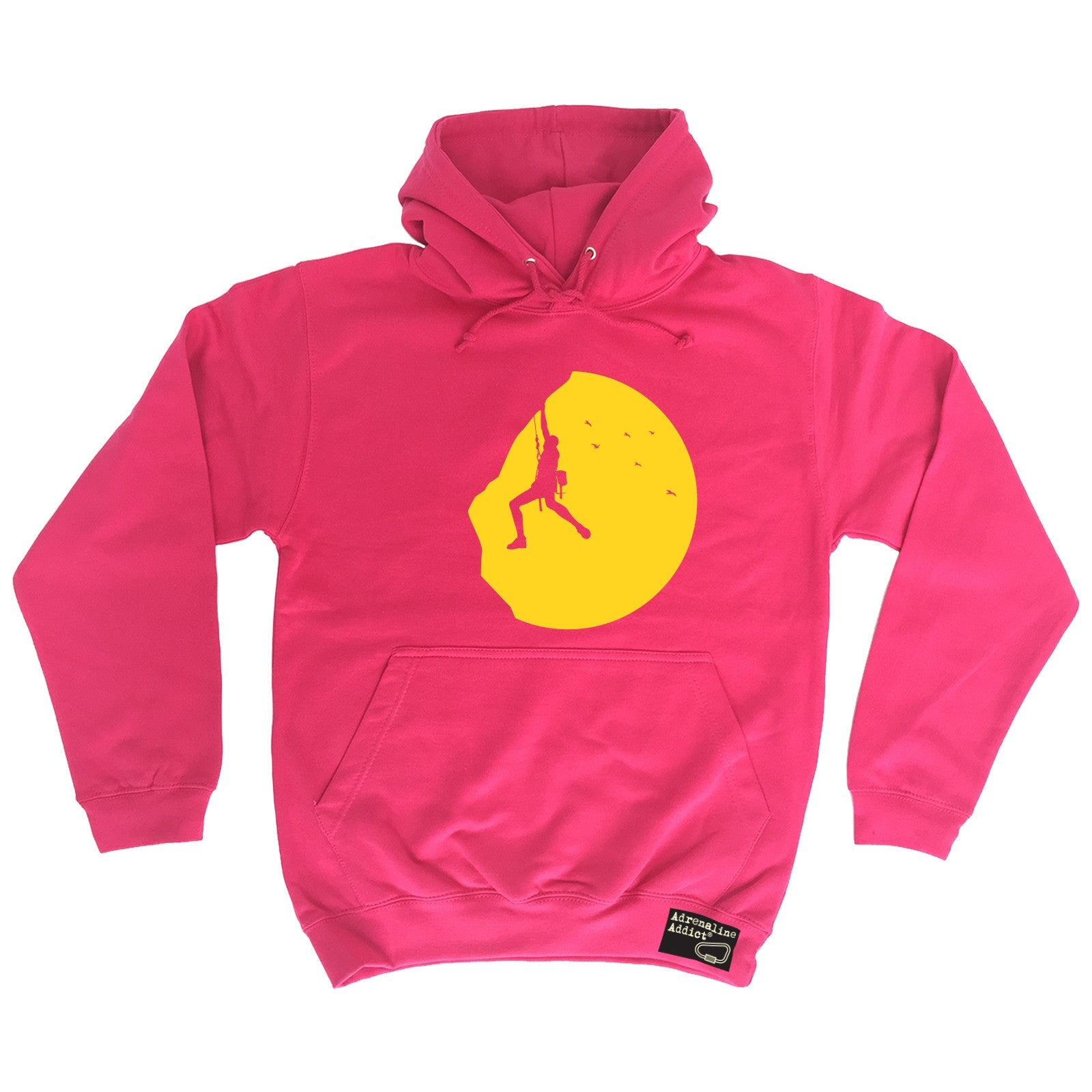 Rock-Climbing-Sunset-Adrenaline-Addict-HOODIE-hoody-birthday-gift-climb-warm