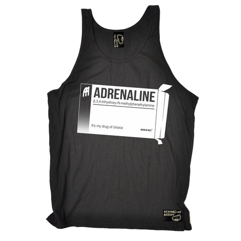 Adrenaline Addict Adrenaline It's My Drug Of Choice Rock Climbing Vest Top