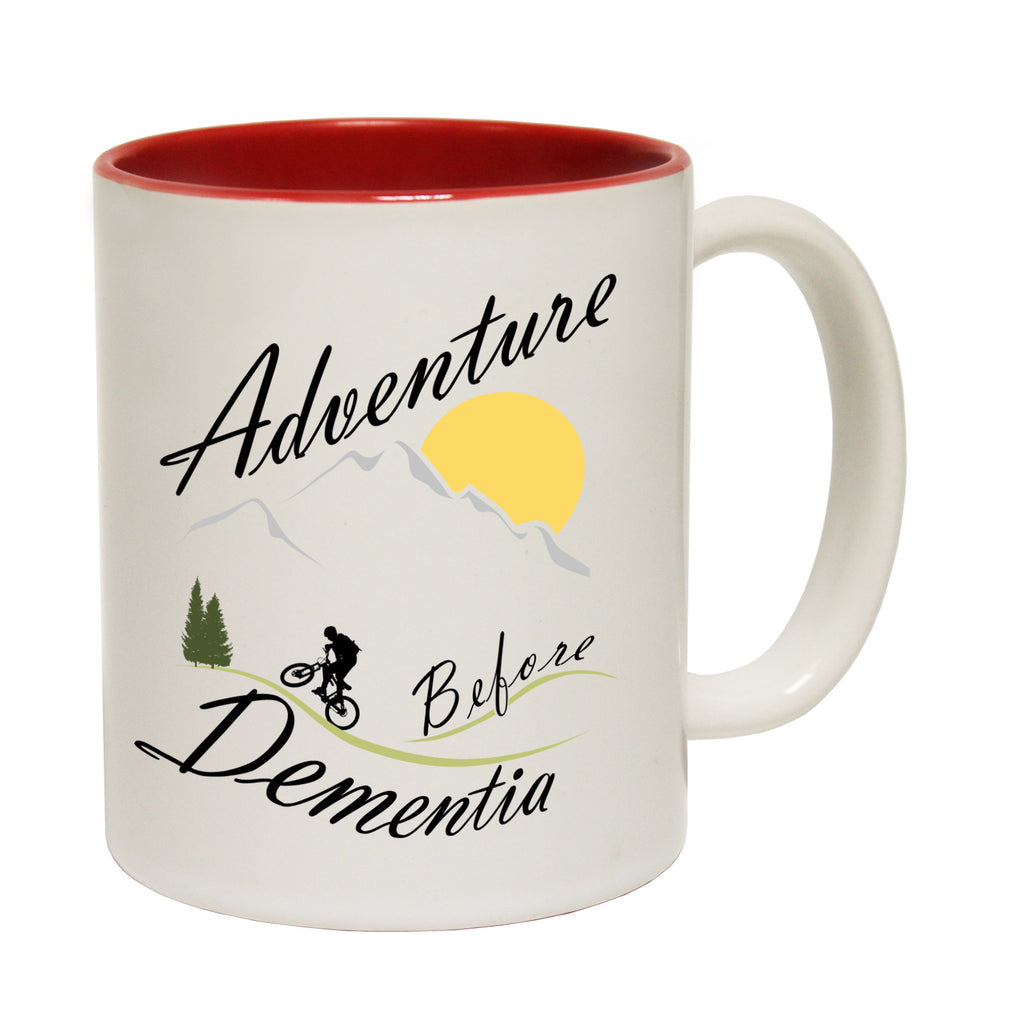 123t Adventure Before Dementia ... Mountain Bike Funny Mug - 123t clothing gifts presents
