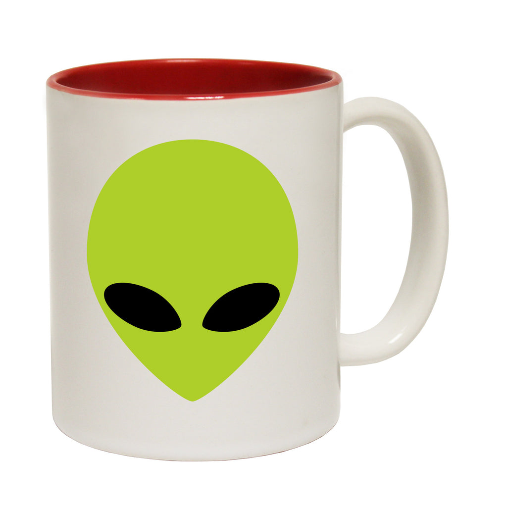 123t Alien Head Funny Mug - 123t clothing gifts presents