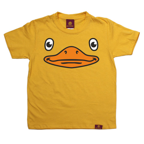 Ani-Mates Duck Animals Kids T-Shirt - Fun Children Clothes Tees Boys Girls Tops