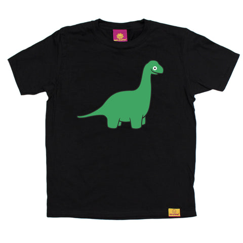 Ani-Mates Brachiosaurus Dinosaur Kids T-Shirt - Fun Clothes Tees Boys Girls Tops