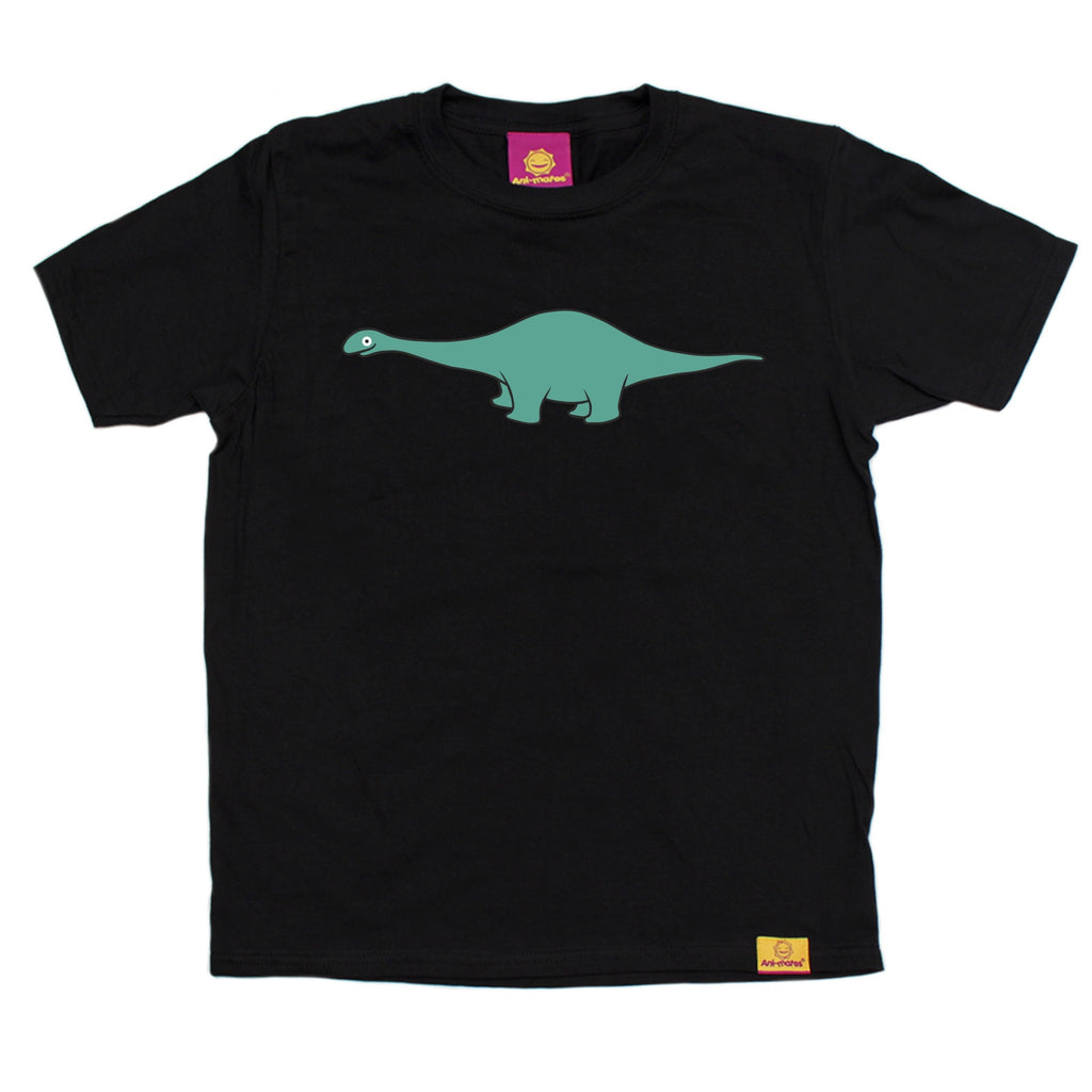 Ani-Mates Diplodocus Dinosaur Kids T-Shirt - Fun Clothes Tees Boys Girls Tops