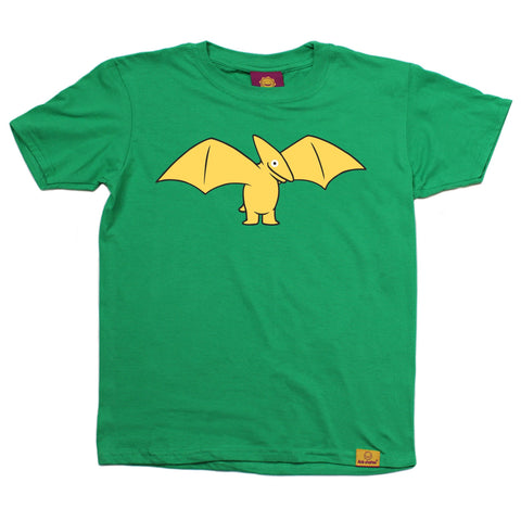 Ani-Mates Pterodactyl Dinosaur Kids T-Shirt - Fun Clothes Tees Boys Girls Tops