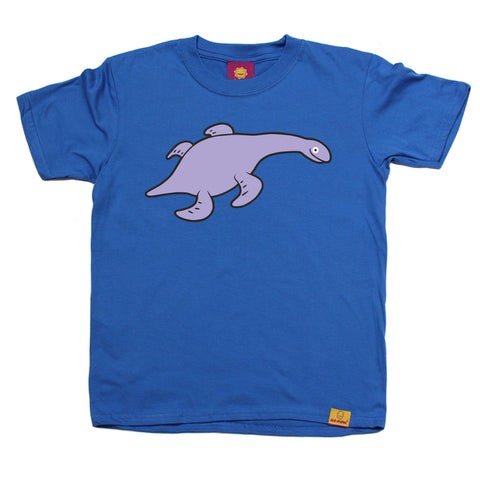 Ani-Mates Rhomaleosaurus Dinosaur Kids T-Shirt Fun Clothes Tees Boys Girls Tops